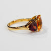 Citrine and Garnet Ring - Kristoff Jewelers