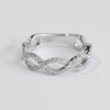 Delicate Woven Diamond Band - Kristoff Jewelers