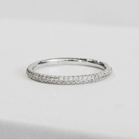 Delicate Diamond Stackable Band