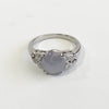 Light Blue Star Sapphire and Diamond Ring - Kristoff Jewelers