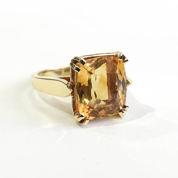 Citrine and Gold Ring - Kristoff Jewelers