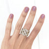 Woven Diamond Ring - Kristoff Jewelers