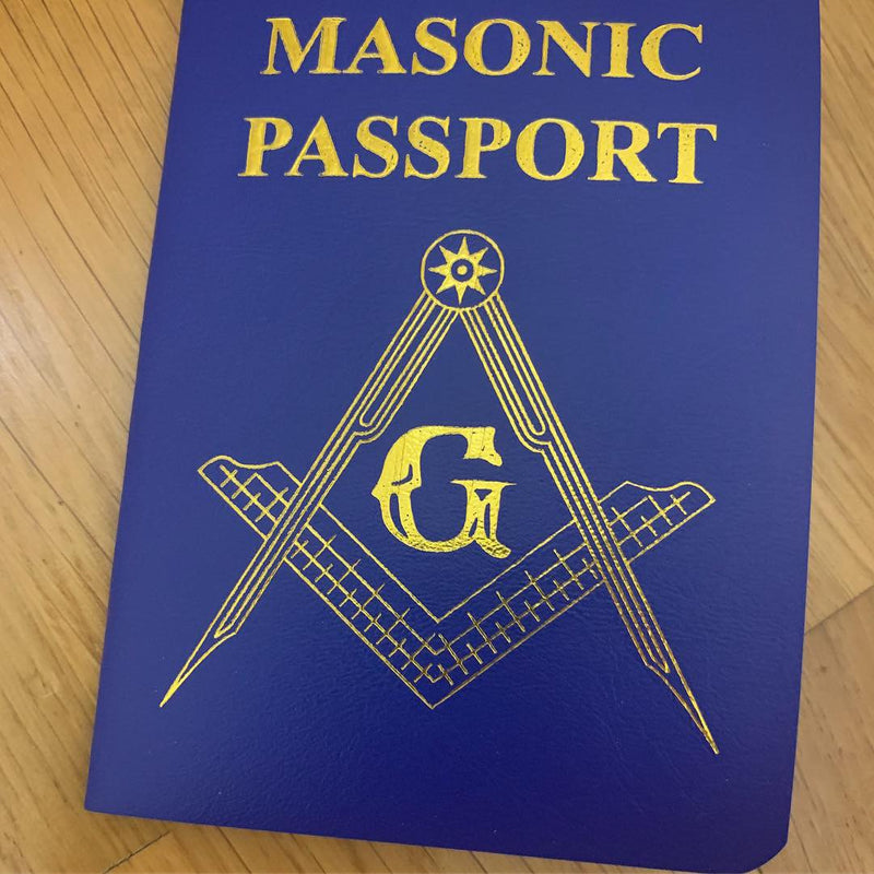 Set of 5 Masonic Passports - Limited Offer - $30