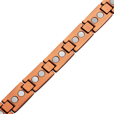 Masonic Pure Copper Link Bracelet with Adjusting Tool