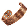 MasonicMan Engraved Square and Compass Pure Copper Bracelet