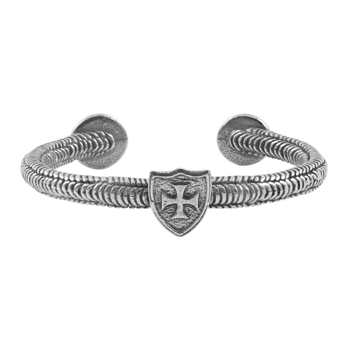 Knights Templar Pewter Crafted Bracelet Made in England