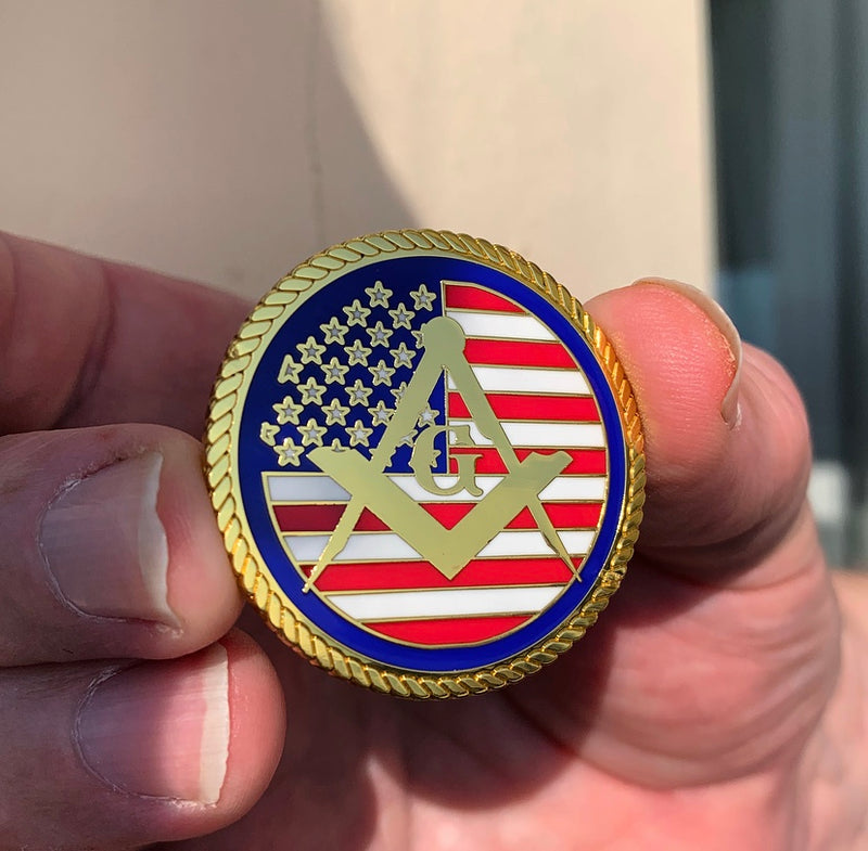 USA MasonicMan Coin - June Dispatch