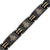 2018 Titanium Masonic Link Bracelet - Black Color