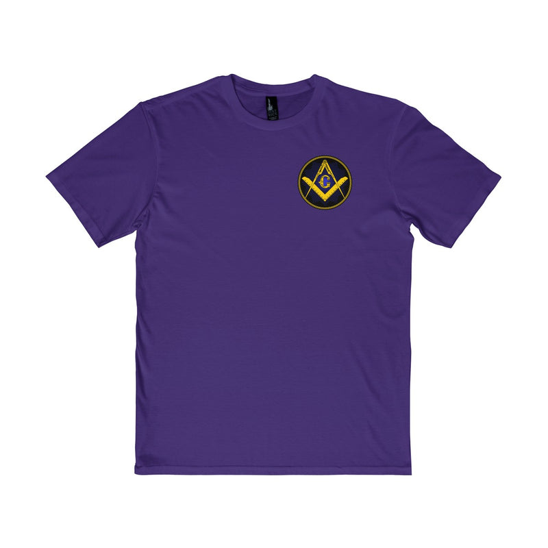 Small Masonic Emblem T-Shirt (Choose Size and Color)