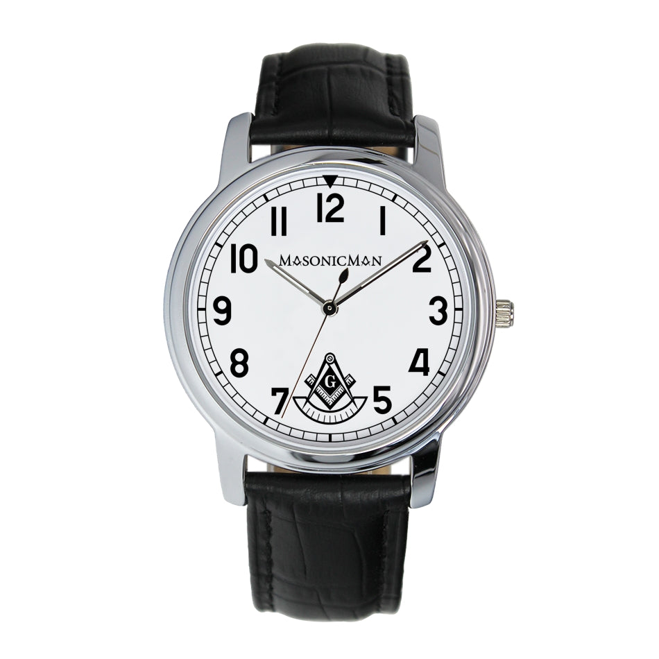 MasonicMan Past Master 38mm Wrist Watch (2 Colors)