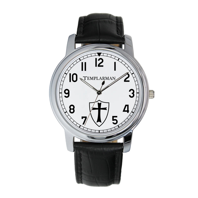 TemplarMan Knights Templar 38mm Wrist Watch (2 Colors)