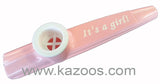 It's A Girl! Kazoos (Bag of 25 Kazoos)