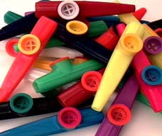 Plastic Kazoos (Case of 500)