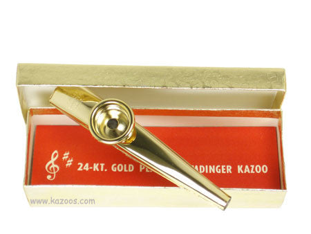 Gold Plated Kazoo