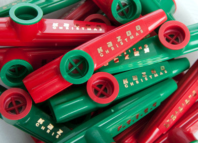 Kazoo Christmas (Bag of 25 Kazoos)