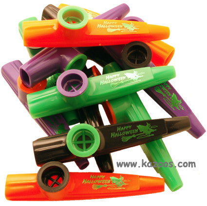Happy Halloween (Bag of 25 Kazoos) <br>