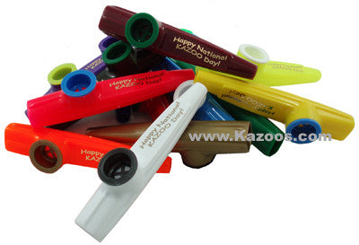 National Kazoo Day (Bag of 25 Kazoos)