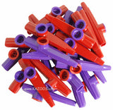 Red and Purple Kazoos (Bag of 25)