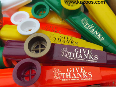 Thanksgiving Kazoos (Bag of 25 Kazoos)