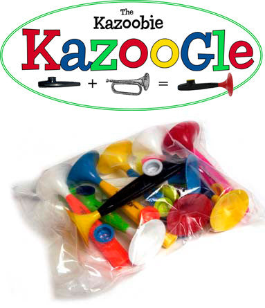 Kazoobie Kazoogle  (Bag of 10)