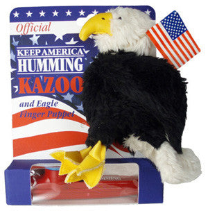 Special Edition Eagle Puppet  Kazoo