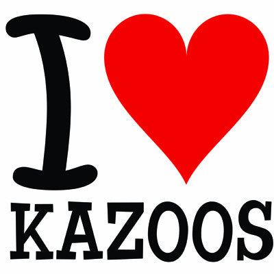 I (Heart) Kazoos T-Shirt