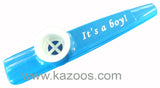 It's A Boy! Kazoo <br> (Individual or Bag of 25)