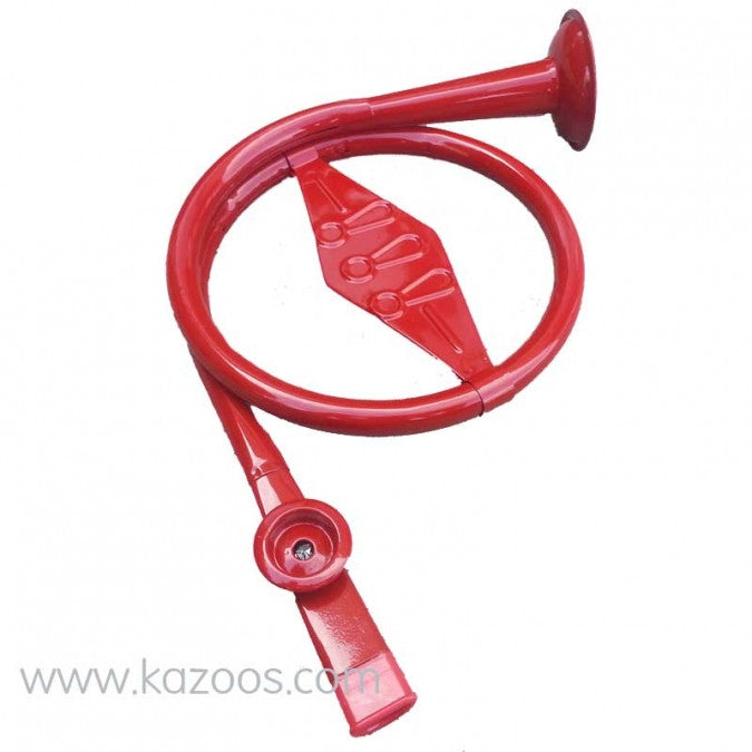 Metal French Horn Kazoo - RED