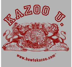 Official Kazoo U. (Kazoo University) T-Shirt