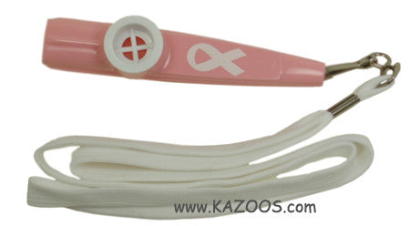 Cancer Awareness Lanyard Kazoo