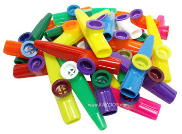 Kazoobie Plastic Kazoos (Bag of 25)