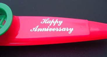Happy Anniversary (Bag of 25 Kazoos)