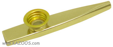 Clarke Metal Kazoo- Gold (Out of stock)