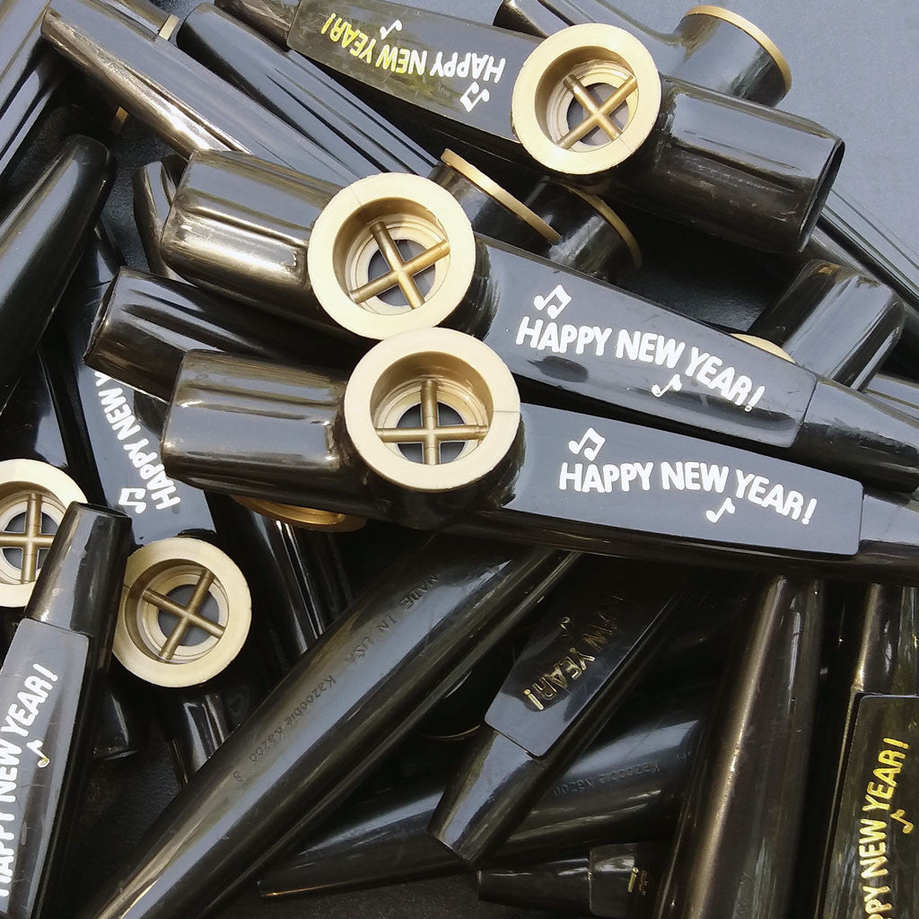 Happy New Year <br> (Bag of 25 Kazoos)