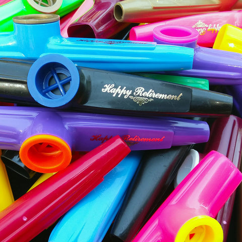 Happy Retirement <br> (Bag of 25 Kazoos)