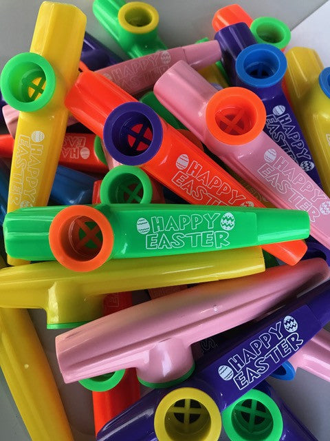 Happy Easter Kazoos (Bag of 25)