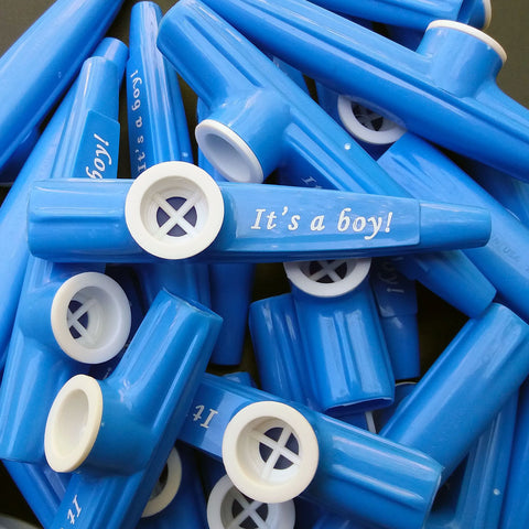 It's A Boy! Kazoo <br> (Bag of 25 Kazoos)