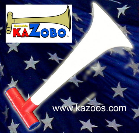 Red White and Blue Kazoos