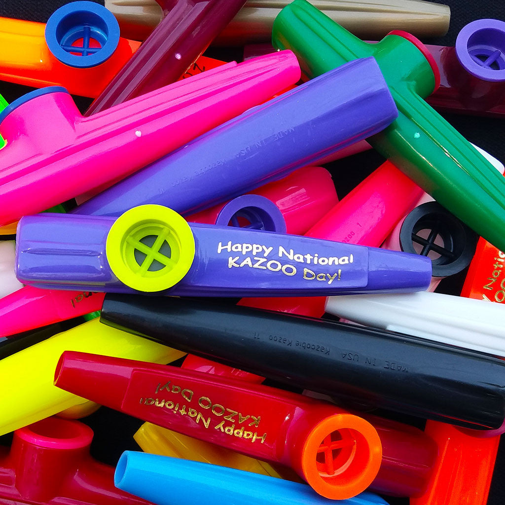 National Kazoo Day <br> (Bag of 25 Kazoos)