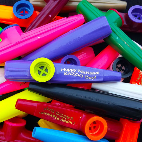 National Kazoo Day <br> (Individual or Bag of 25)