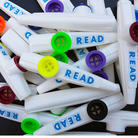 READ Kazoo <br> (Bag of 25 Kazoos)