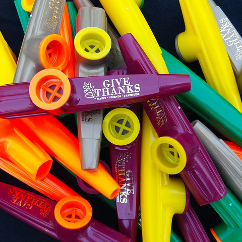 Thanksgiving Kazoos - (Bag of 25 Kazoos)