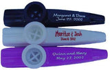 Custom-Imprinted Plastic Wedding Kazoos<br>(125 to 1000 Units)