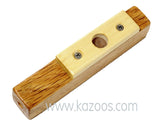 Lou's Wooden Kazoo - Single Resonator