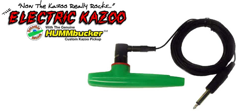 The Kazoobie Hummbucker Electric Kazoo