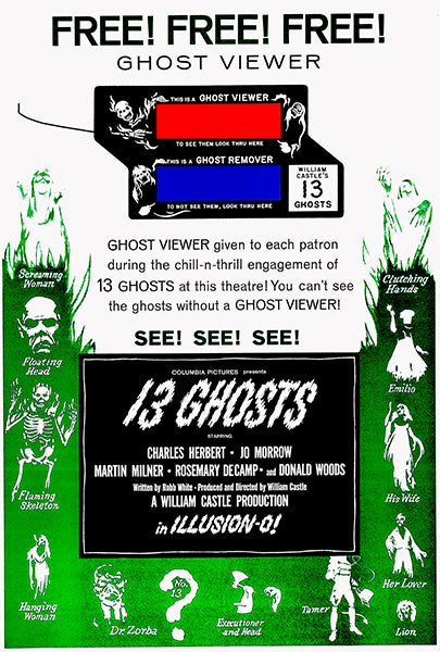 13 Ghosts #2 - 1960 - Movie Poster