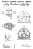 1871 - Improved Water Meter - A. O'Leary - Patent Art Mug