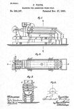 1883 - Wood Pulp Assorting Machine - F. Voith - Patent Art Mug