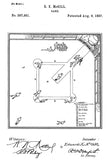 1887 - Baseball Game - E. K. McGill - Patent Art Poster