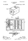 1889 - Camera - G. Eastman - Patent Art Poster